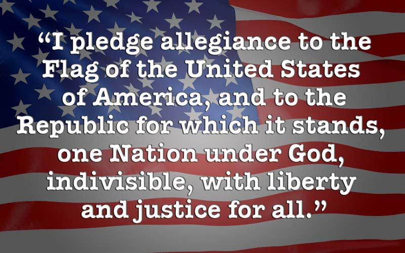 Flaw with Pledge of Allegiance